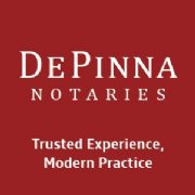 De Pinna, Notaries logo